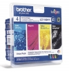 210652 - Original Valuepack Tinte  HY, schwarz, color LC-1100VAL HY Brother